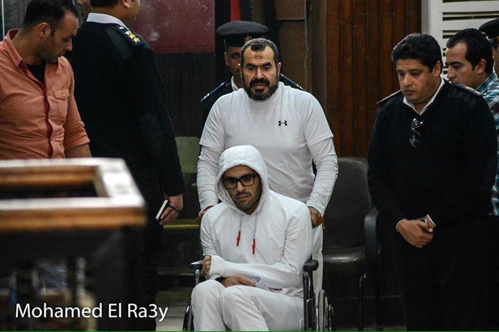 Mohamed Soltan and his father Salah Soltan