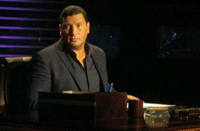 Television show host Islam al-Beheiry. Photo from Al Shorouk