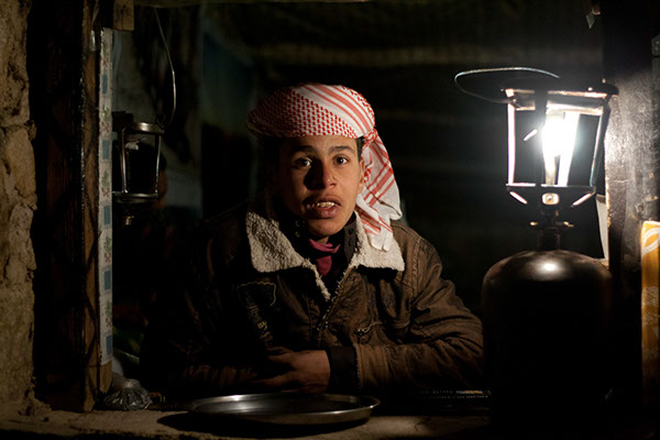 On mountain tops in Sinai where there is no electricity, people still use gas lanterns