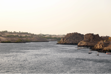 A view of the River Nile from Heisa