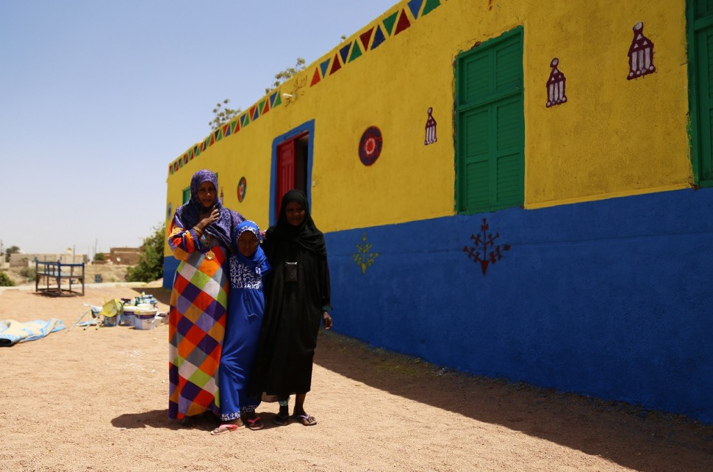 A Nubian family in Heisa