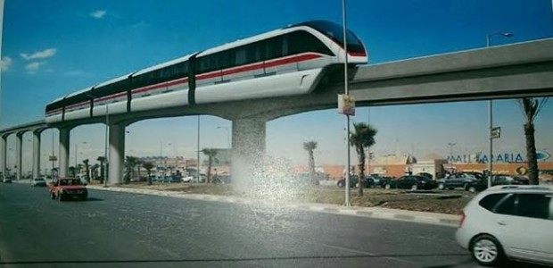 Concept design of the monorail