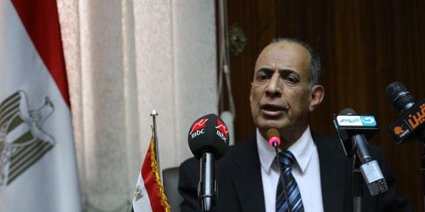 Minister of Justice Mahfouz Saber/YOUM7