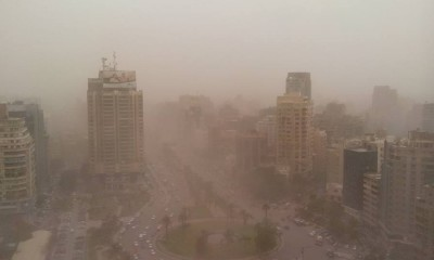 Sandstorm on May 28, 2015. Credit: Amr Elsayed