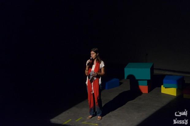 From 3ash Ya Wa7sh performance (2014)/ Courtesy of BuSSY