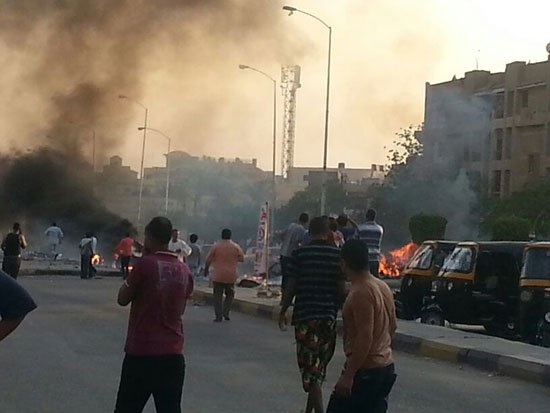 Two bomb detonated in Cairo's 6th of October city. Source: Youm7