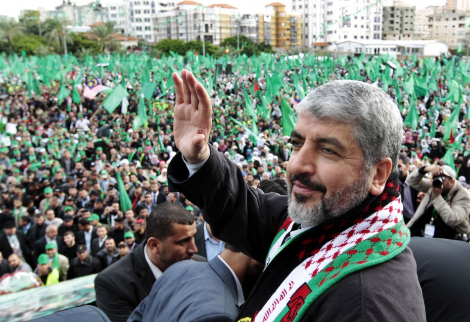 Hamas leader Khaled Meshaal (Reuters)