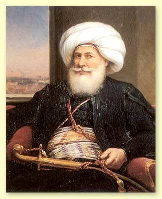 "Muhammad Ali Pasha - often known as the ""Founding Father of Modern Egypt"""