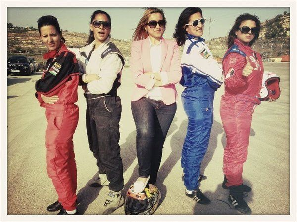 The all female racing team is the first of its kind in the Arab world