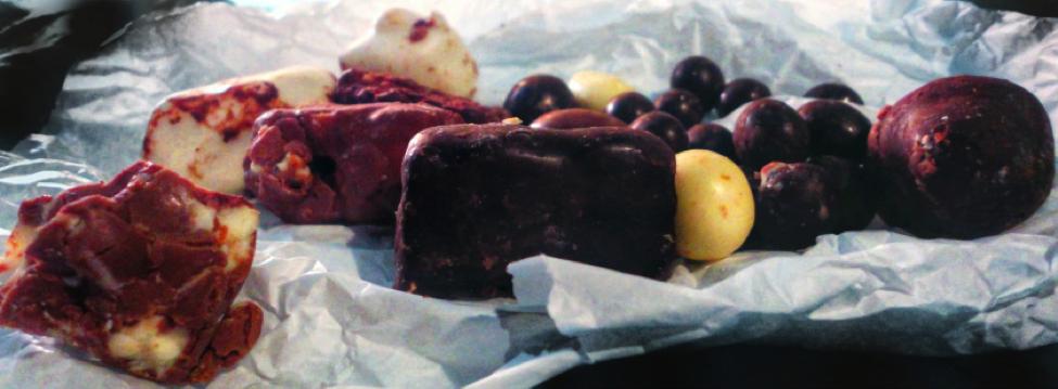 Perugina truffles, Italian