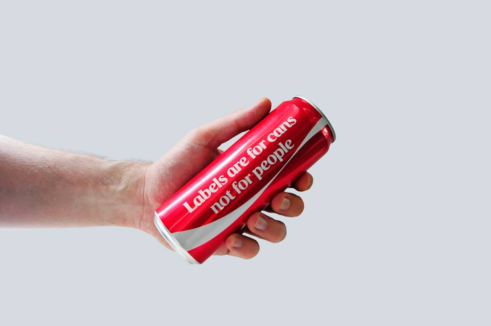 Coca-Cola 2015 'Labels are for cans, not for people' Campaign