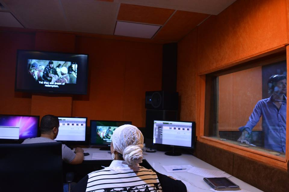 Behind in the scenes of Zawya's control room