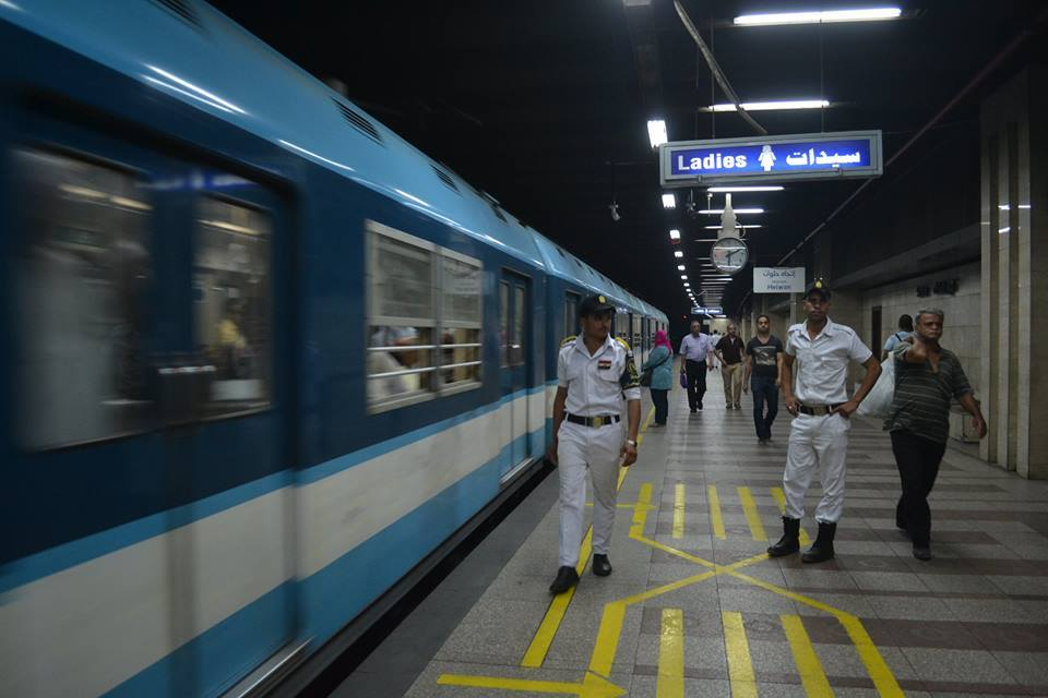 Egyptian authorities opened the Sadat metro station in downtown Cairo, much to the metro passangers' relief, on Wednesday, June 17, 2015. ASWAT MASRIYA/Asmaa Gamal