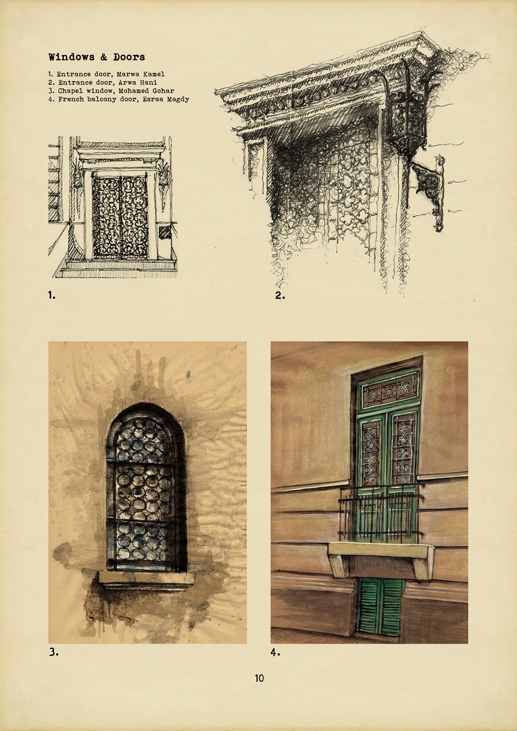 The sketches were collected in a book to be sold to public in order to raise people's awareness of the project