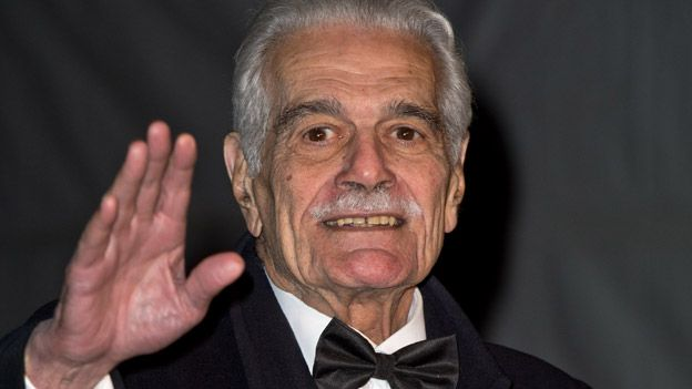 Omar Sharif after being diagnosed with Alzheimer's