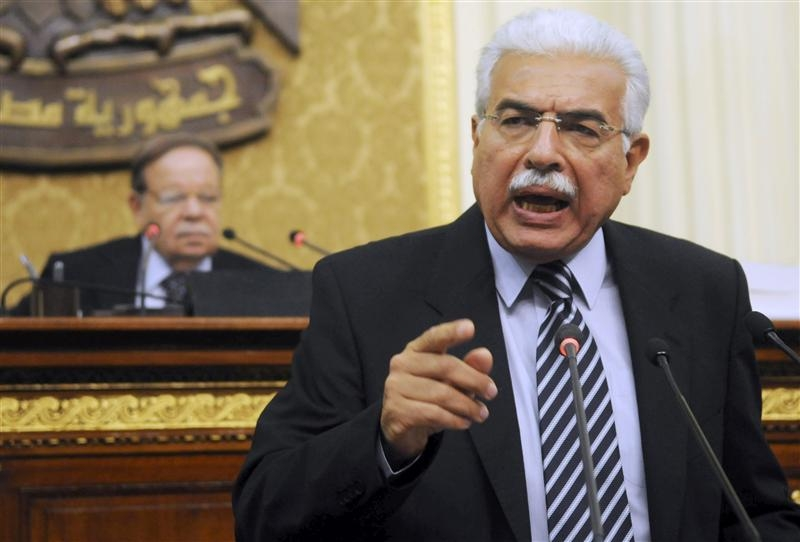 Egyptian Prime Minister Ahmed Nazif speaks during a parliament session in Cairo. Credit: Reuters/Mohamed Abd El Ghany