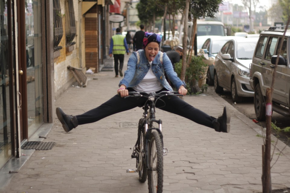 I often commute around Cairo on bicycle, which is a great way to see the city differently