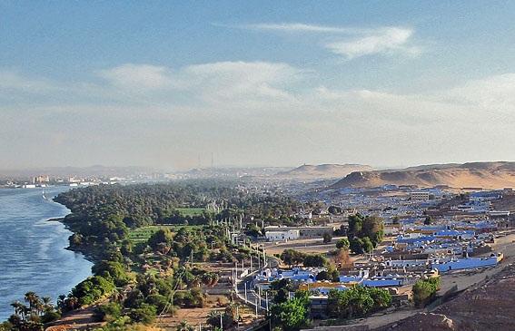 Nubian tourist village, Gharb Soheil, Aswan