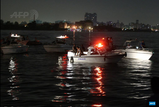 Rescue operations were hindered due to the darkness (AFP)