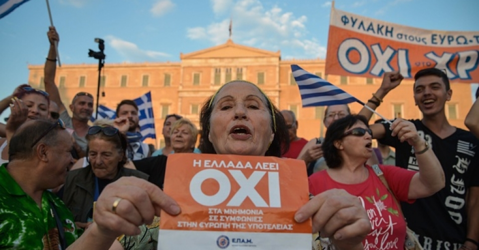 "A ""no"" vote in the referendum could mean an exit for Greece from the Eurozone"