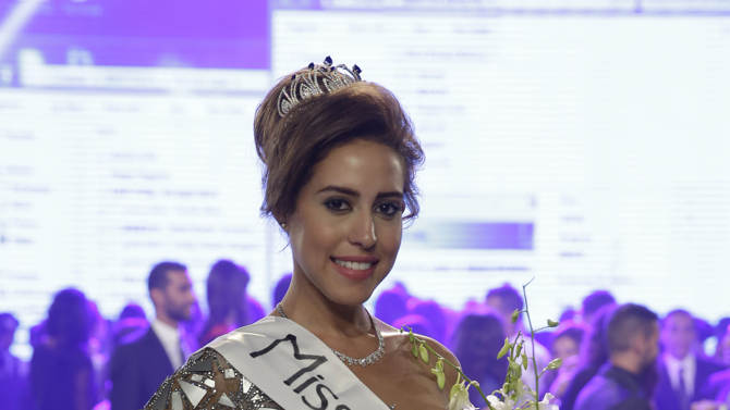 Amina Ashraf, crowned Miss Egypt 2014 - how in line are Egypt's beauty standards with how average Egyptian women look?
