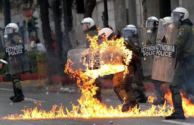 Greece has struggle since the 2008 financial crisis, and seen much political unrest since