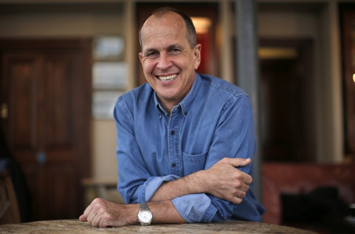 Australian broadcast journalist, Peter Greste, recently freed from prison in Egypt, poses for a portrait before giving a press conference at the Frontline club, London, February 19, 2015. Credit: Peter Nicholls/ Reuters