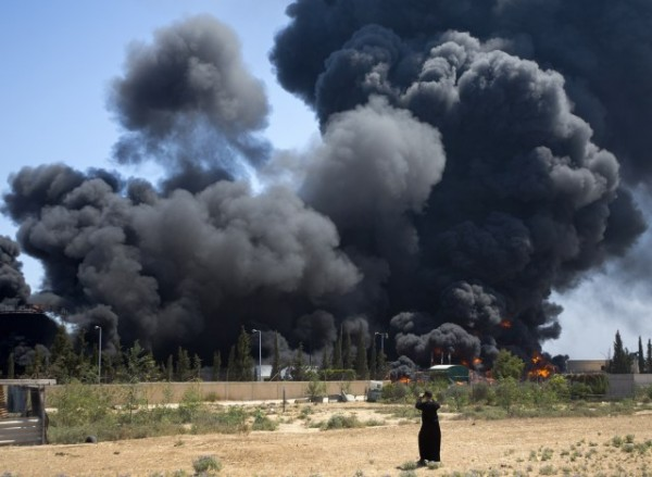 The destruction of Gaza's power plant on July 29 2014
