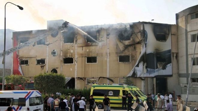 The fire, which tore through the 3-storey building, has claimed the lives of at least 25 workers
