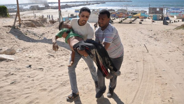 An attack on Gaza's beach which killed four children