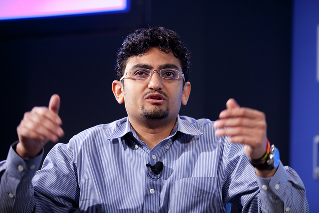 Wael Ghonim reached international fame in 2011