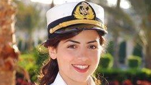 Marwa el-Slehdar,24, is Egypt's first and youngest shipmaster