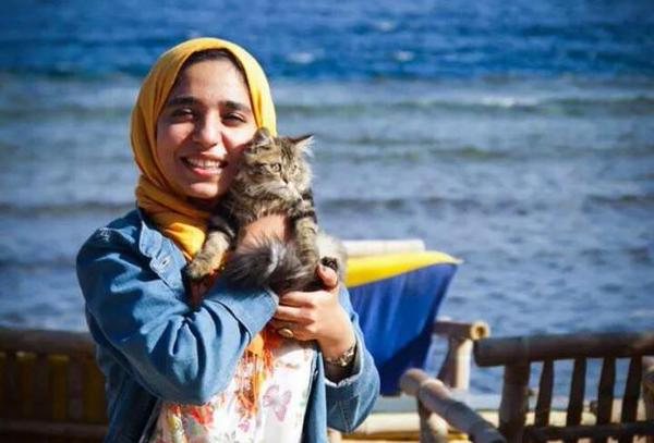 """In this filthy prison, we also suffer from the impolite behavior of the criminal prisoners. Those women physically harass us,"" Esraa wrote from prison."