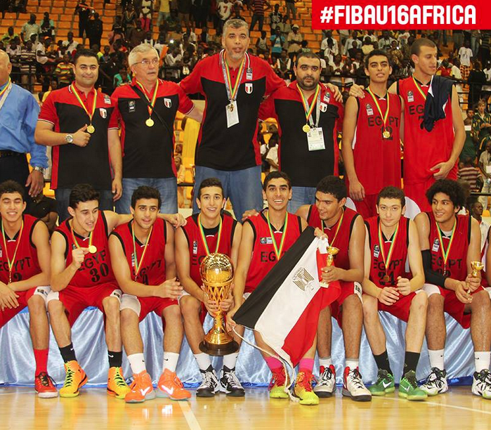 Egypt's Pharaohs Crowned U-16 African Basketball Champions ...