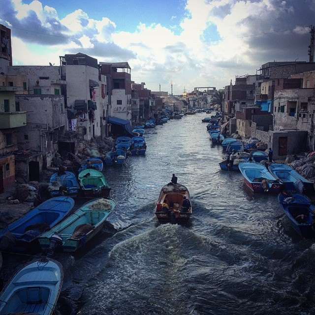 Al Max in Alexandria (Egypt's Venice). Photo by Ahmed Hayman
