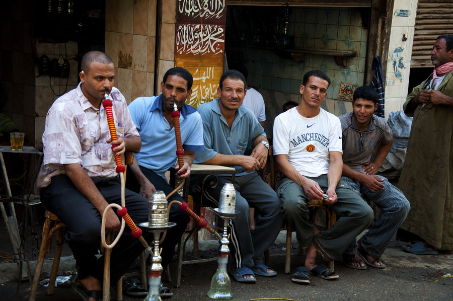 Unemployment rates among Egypt's youth have reached a staggering 26.3 percent. Credit: Marwa Morgan