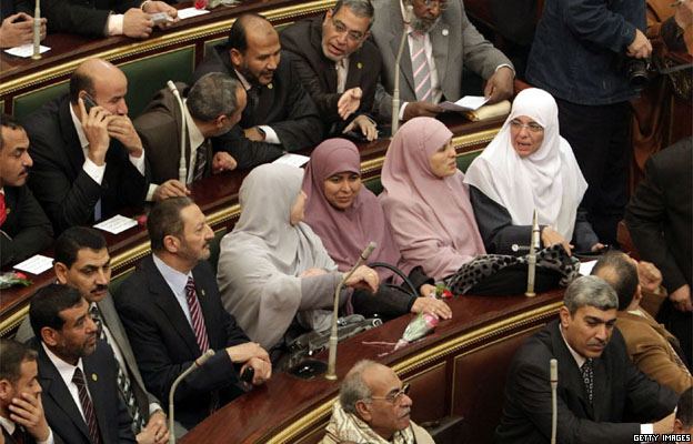 Female candidates secured around 1% of the 508 seats in the 2012 parliamentary elections.