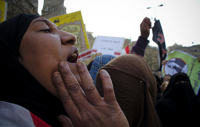 Anti sexual harassment march to Tahrir in 2013