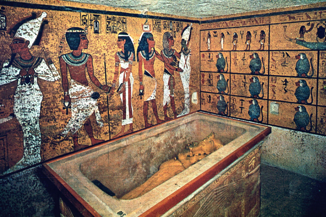 tutankhamuns tomb Tutankhamun's tomb had been entered at least twice, not long after he was buried and well before carter's discovery the outermost doors of the shrines enclosing the king's.