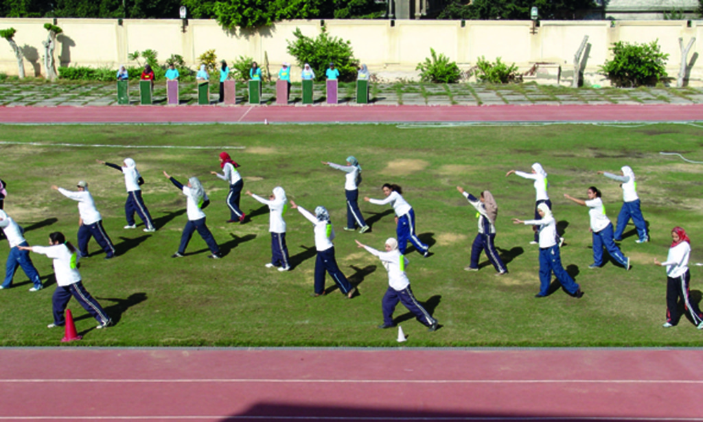 Alexandria University's Faculty of Physical Education for girls