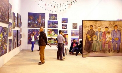Arts-Mart, a new gallery in Cairo that exhibits contemporary Egyptian art. Courtesy of MO4 Network