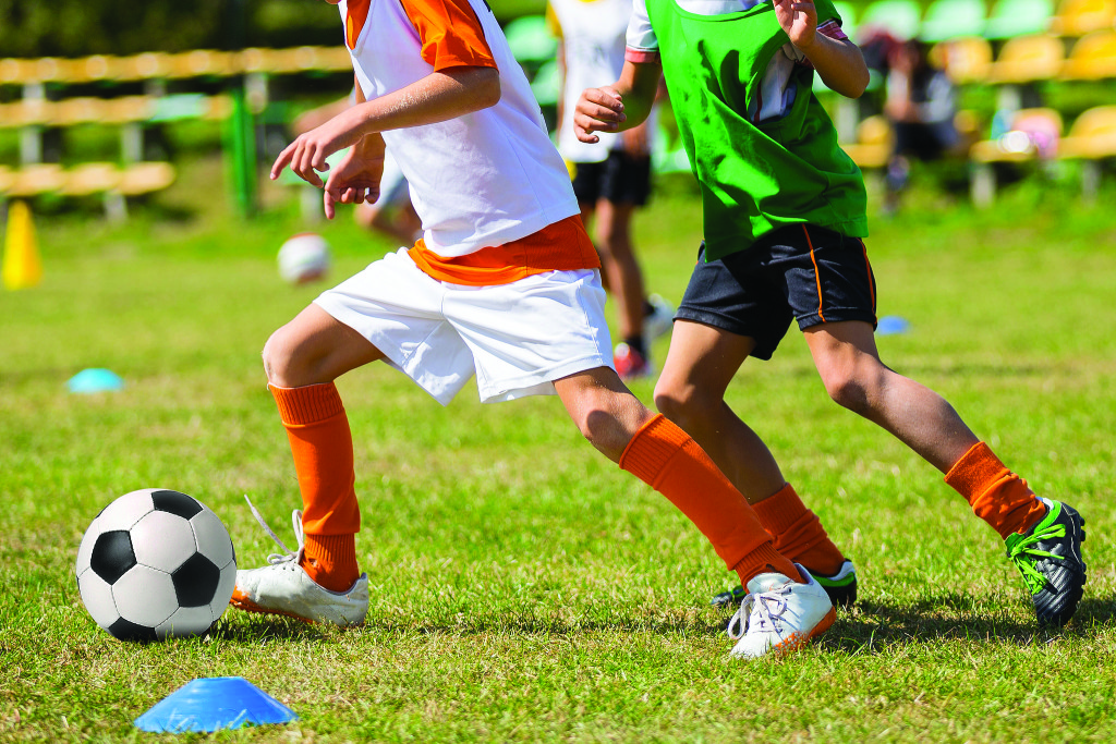 Intermediate and high school students are driven by their craze for soccer
