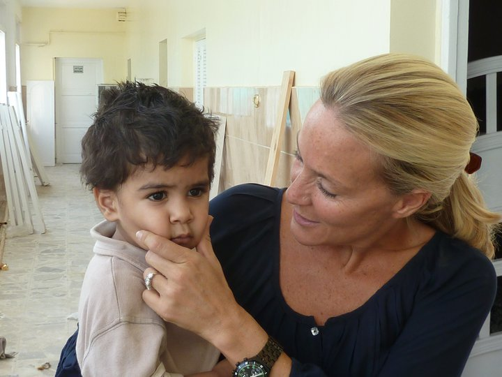 """I adore children and have always hated the idea of children suffering."" -Flavia"