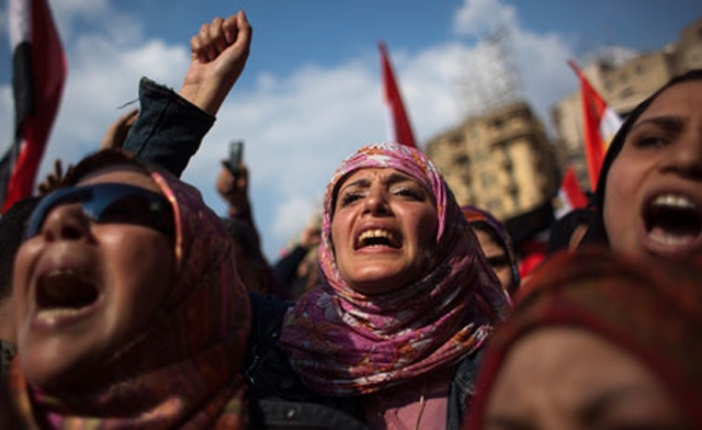 Women have been historically active in Egypt's political movements