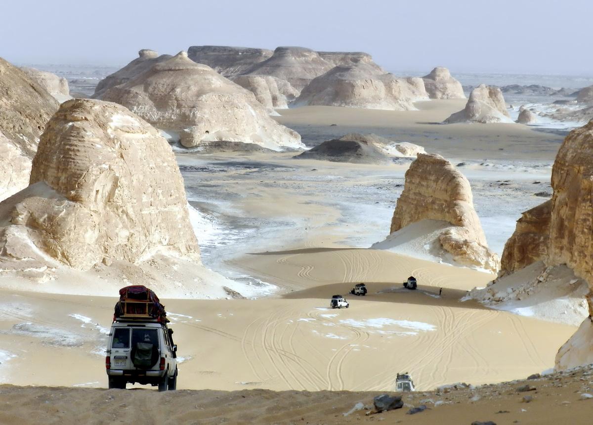 Archive photo of Western Desert (via Travyde)