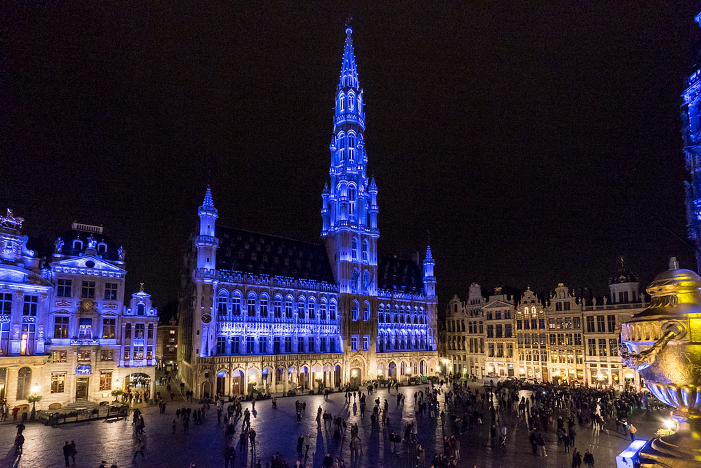 Grand Place, Brussels, Belgium. Credit: The Global Lens / Elliot Moscowitz/ UN Information Centre/ Flickr