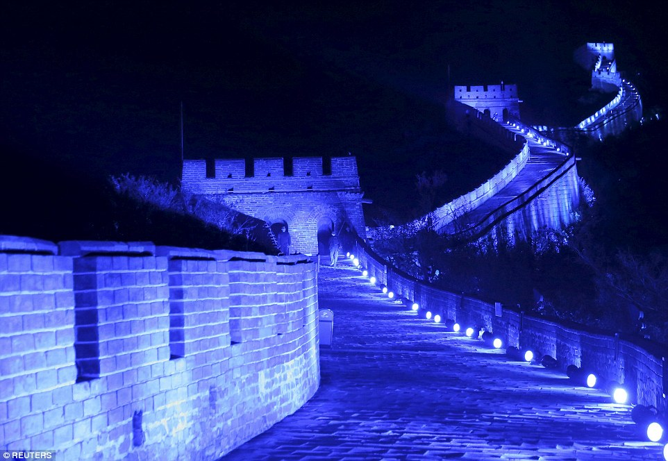 The Great Wall of China. Credit: Li Sanxian/ Reuters