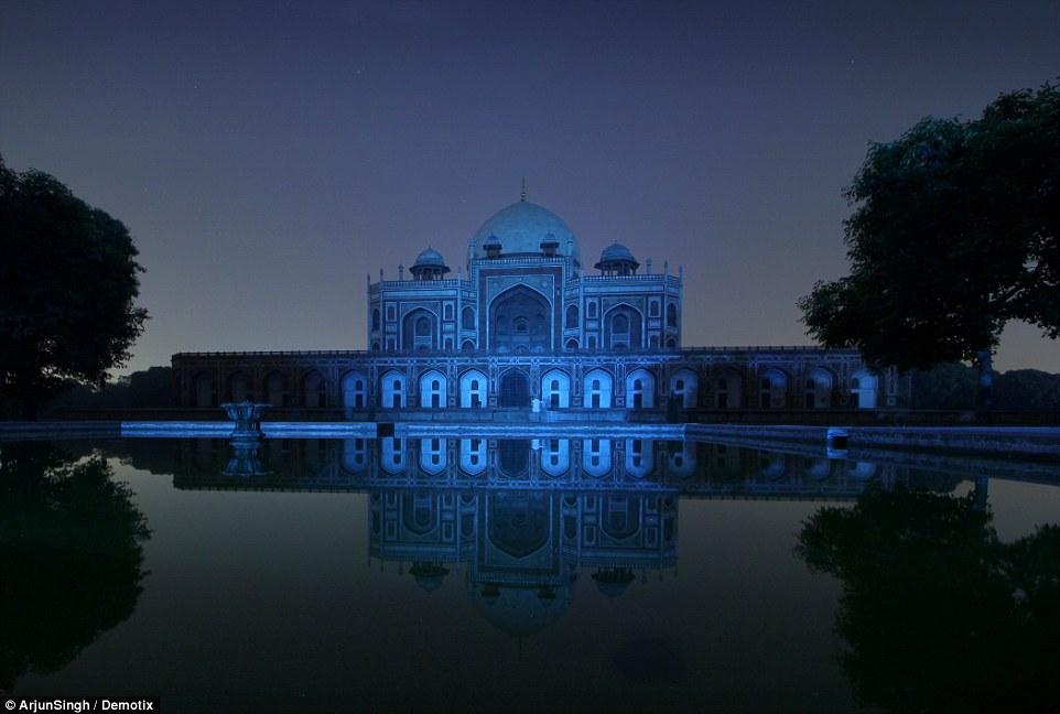 The Humayun's Tomb monument in New Delhi, India. Credit: Arjun Singh/ Demotix
