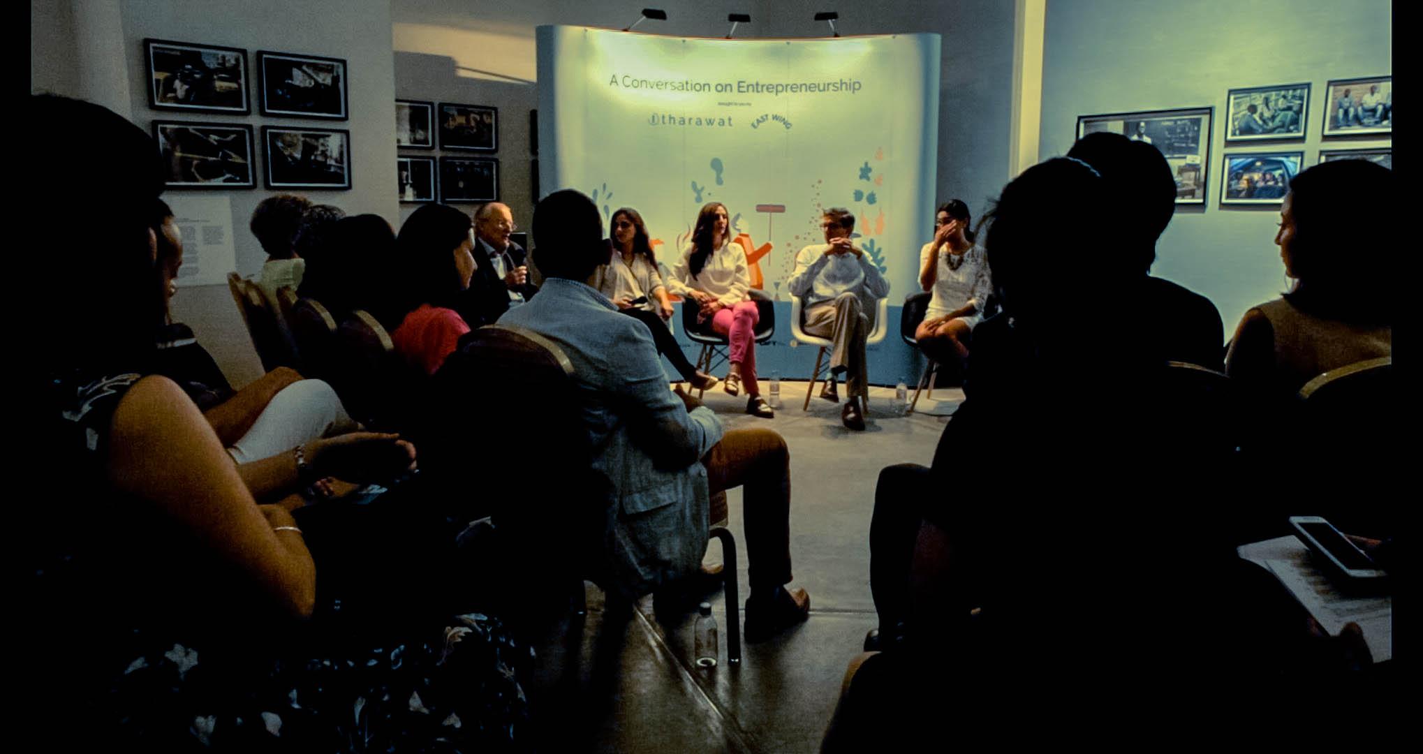Photo Credit: Conversations in Entrepreneurship, Tharawat Magazine, Dubai. October 2015