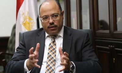 Egypt's Finance Minister Hany Kadry Dimian. Photo: Mohamed Abd El Ghany/Reuters